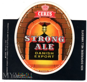 Ceres Strong Ale Danish Export
