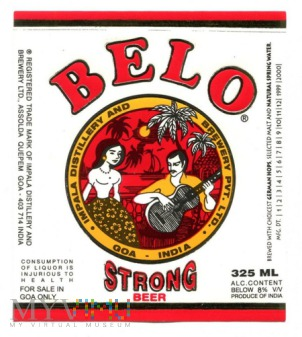 Belo strong beer