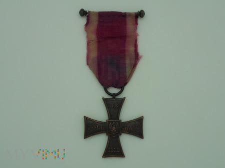 Krzyż Walecznych - Knedler nr:24717 - lata 1920-21