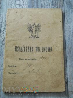 Książeczka Wojskowa 17/41 Pułk Piechoty