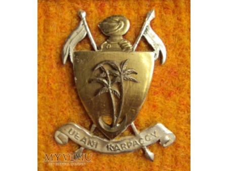 Odznaka 73 Pułku Zmech. Ułanów Karpackich