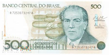Brazylia - 500 cruzados (1987)