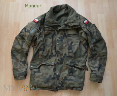 Kurtka ubrania ochronnego 128 Z/MON