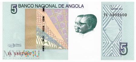 Angola - 5 kwanza (2012)