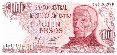 Argentyna - 100 pesos (1977)