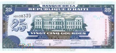 Haiti - 25 gourdes (2015)