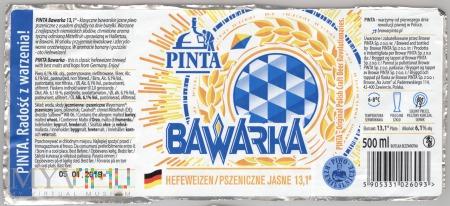 Pinta, Bawarka