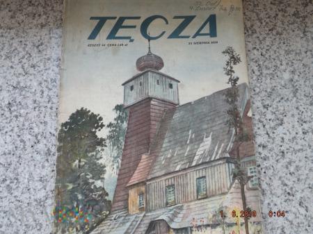 Czasopismo ilustrowane Tęcza - 1928r. Zeszyt 34.
