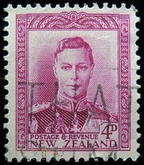 Nowa Zelandia 4D Jerzy VI