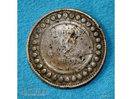 10 centimes tunezyjskich