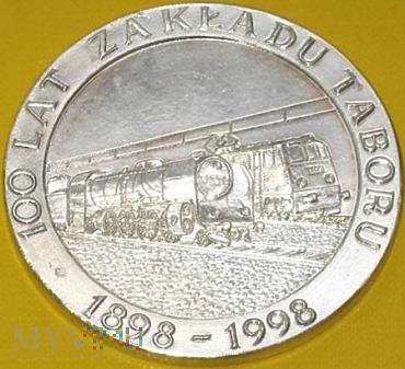 Medal 100 lat Zakładu Taboru Czerwieńsk