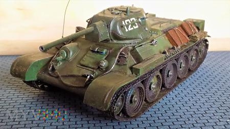 T-34-76 1942 fabr. 112 Krassnoje Sormowo