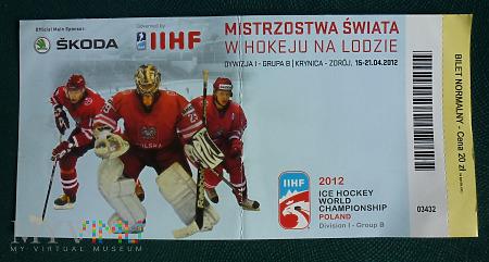 Mistrzostwa Świata Dywizja 1 - Krynica Zdrój 2012