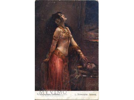Taniec Salome z głową św. Jana