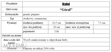 "Kufel ""Góral"""
