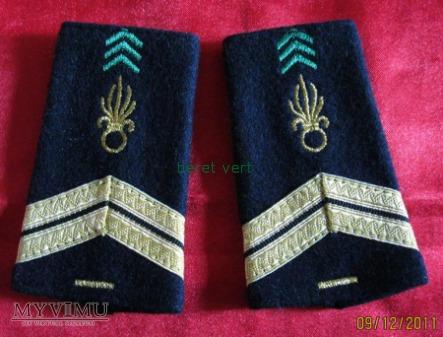 naramienniki sergent - sierżant (1servis)