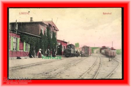 ŁOBŻENICA Lobsens Dworzec kolejowy