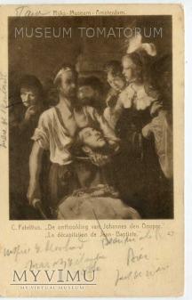 Fabritius - Kat podaje na tacy głowę św. Jana