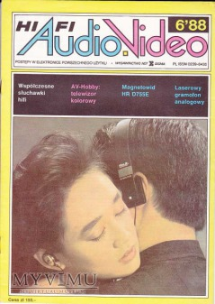 AUDIO Hi-Fi VIDEO 1988 rok, cz.II