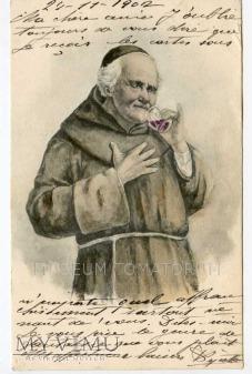 Monk Friar Mönch capucin zakonnik - degustacja 9