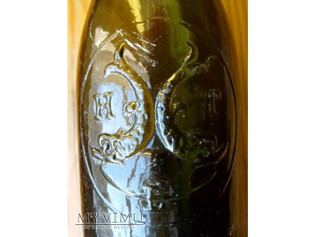 H.Timmler Liegnitz - najpiękniejsza butelka