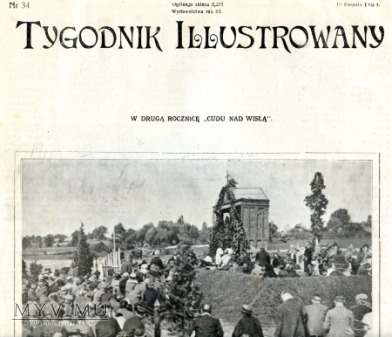 """Gazeta """"Tygodnik Ilustrowany"""" 1922"""