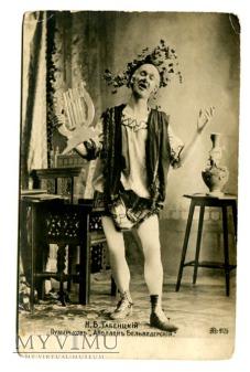 c 1905 aktor Tабенцкiй ? Apollo Belwederski