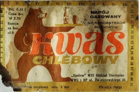 Etykieta Kwas Chlebowy