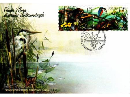 Fauna i flora akwenów śródlądowych - 2004