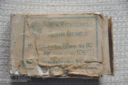 Pudełko amunicyjne 7,92mm Polska