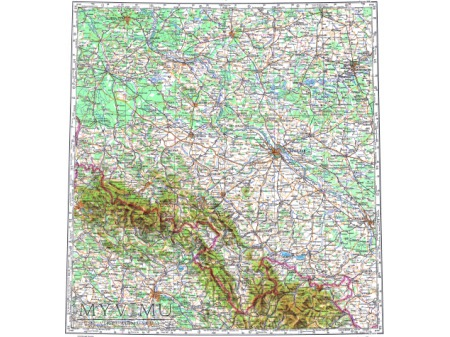 Duże zdjęcie Mapa 1