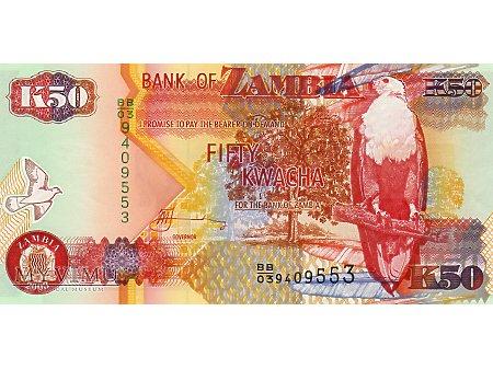 50 Kwacha 2003 r.