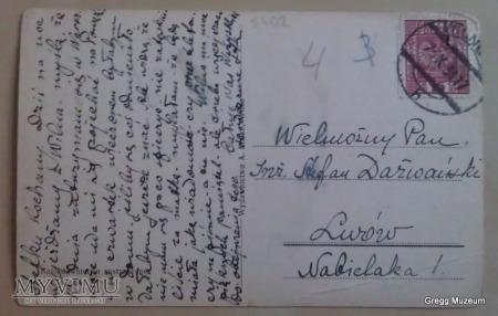 Wilno-widok ogólny (pocztówka)