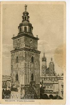 Kraków - Rynek - Ratusz - 1920
