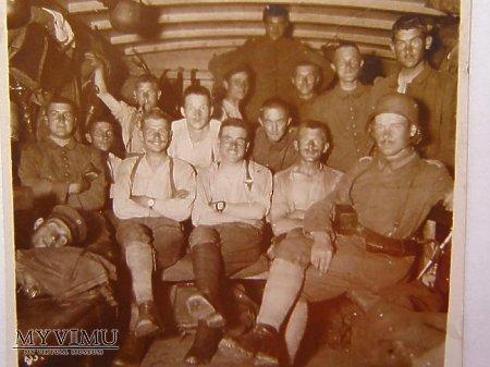 Duże zdjęcie I wojna- frontowcy
