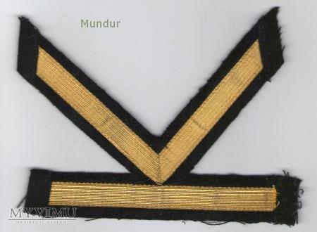 Dystynkcje do munduru wyjściowego MW -bosman sztab