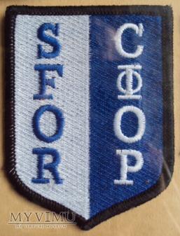 Oznaka misyjna Sił Stabilizacyjnych SFOR