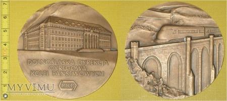 Medal kolejowy Dolnośląskiej DOKP