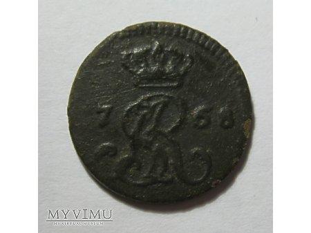 1/2 GROSZA STANISŁAW AUGUST PONIATOWSKI (1766,68)