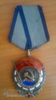 Order Czerwonego Sztandaru Pracy