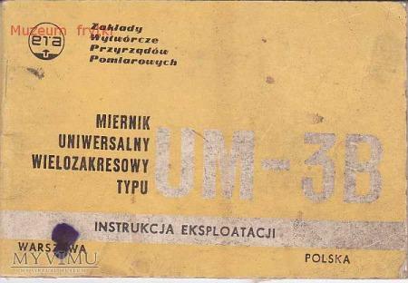 INSTRUKCJA PRRZYRZĄDU POMIAROWEGO UM-3B