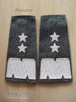 Pochewki z oznakami stopnia - generał dywizji