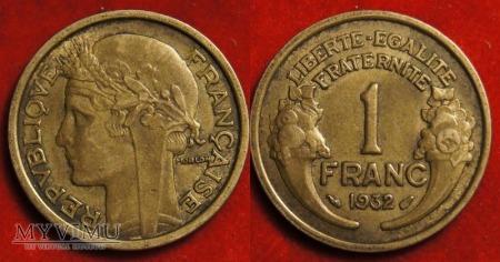 Francja, 1 FRANC 1932