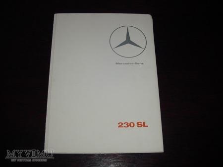 Prospekt MERCEDES 230SL (W113)