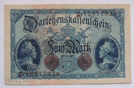 Duże zdjęcie 5 marek 1914