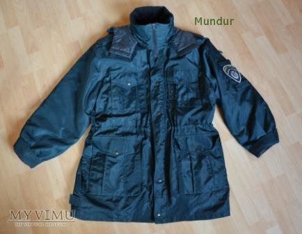 Urzęd Celny - ortalionowa kurtka zimowa