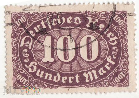 Deutsches Reich 100 Mark 1922