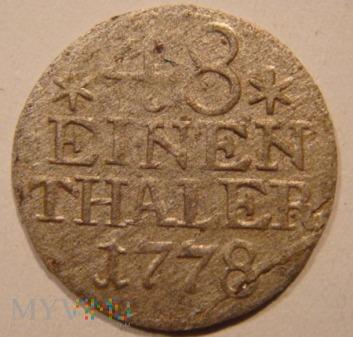 48 EINEN THALER 1778