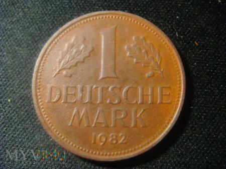 1 Deutsche Mark 1982 D
