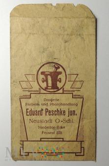 Papierowe opakowanie E. Peschke Neustadt